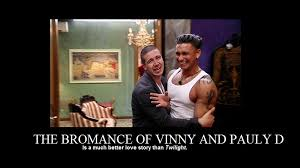 Bromance Memes - the bromance of vinny and pauly d still a better love story than