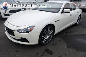 maserati gold chrome used white 2014 maserati ghibli s q4 for sale gold coast maserati