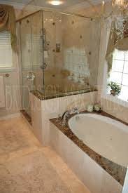 elegant bathroom with shower and bathin inspiration to remodel