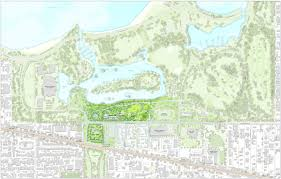 Hyde Park Chicago Map by Here U0027s The Latest Site Plan For The Obama Presidential Center