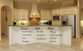 May May Kitchen Bread Salt Wine Wall Decal Kitchen Decorations Living Room
