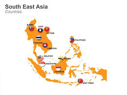 south asia countries map introduction to southeast asia 11 countries 620 million