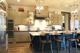 black island kitchen gray kitchen cabinets with black island