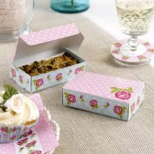 party favours pack of 10 cake boxes single slice wedding cake party favours buy
