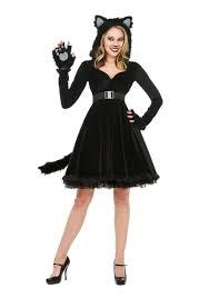 Kids Cat Halloween Costumes Halloween Halloween Womens Black Cat Costume Kids Costumes