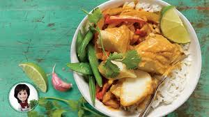 recette cuisine poisson cari de poisson iga recettes gingembre riz lait de coco