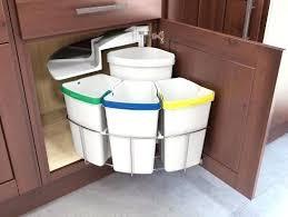 kitchen bin ideas sink trash can kitchen bin with the decorations 12 design 19