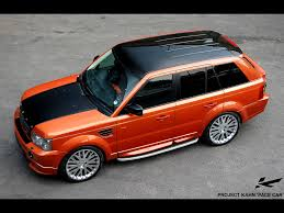 kahn range rover 2006 project kahn range rover sport pace car side angle top