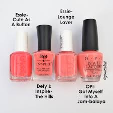 go polished essie 2016 spring collection comparsions