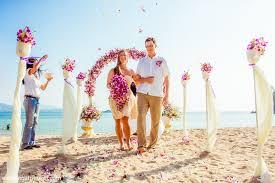 Small Cheap Wedding Venues Small Budget Cheap Beach Wedding Ceremony Phuket