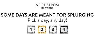 Nordstrom Help Desk Number Nordstrom Cardmembers Personal Triple Points Days