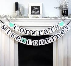Congratulations Engagement Banner Best 25 Congratulations Banner Ideas On Pinterest Printable