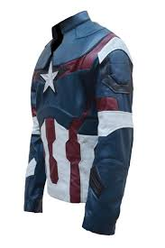 ultron costume captain america age of ultron leather jacket costume