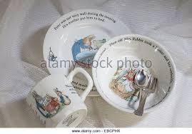 wedgwood rabbit tea set beatrix potter rabbit stock photos beatrix potter