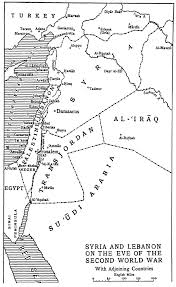World War 2 Map by File Sash D254 Map Of Syria And Lebanon On The Eve Of World War 2