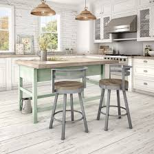 uncategorized kitchen island with two stools white oak kitchen