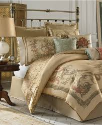 Macy S Home Design Down Alternative Comforter by Croscill Normandy Comforter Sets Bedding Collections Bed