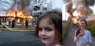 Fire Girl Meme - the little girl from the meme is all grown up feel old now