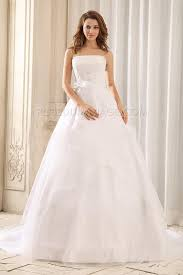 robe de mari e classique robe de mariée classique évasée broseries noeud organza