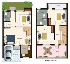 square feet into gaj 20 feet by 45 feet house map decorch
