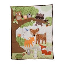 woodland animals baby bedding woodland tales by lambs ivy lambs ivy