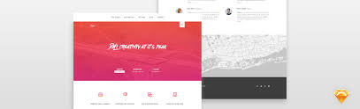 templates for website design how to design a web template in sketch app pixelhint web design