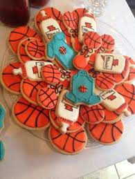 Basketball Themed Baby Shower Decorations Basketball Themed Baby Shower Baby Shower Ideas Pinterest
