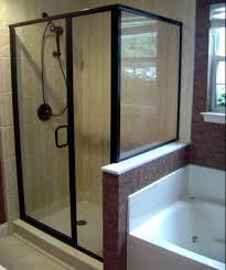 Framed Vs Frameless Shower Door Semi Frameless Shower Enclosures California Reflections