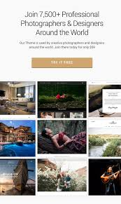 photography photography wordpress for photography by themegoods