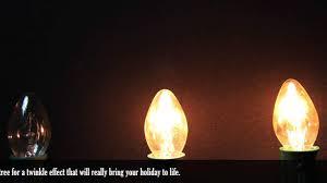 c7 twinkle light bulbs demonstration