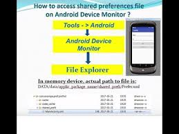 how to access files on android lesson 15 2 android how to access sharedpreferences file on