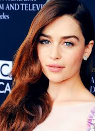 emilia clarke with red hair women with red hair pinterest