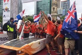 Challenge News Au World Solar Challenge 2017 Team Nuon Wins Third Consecutive