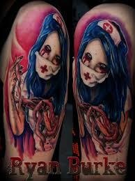 38 best zombie nurse tattoo images on pinterest zombie nurse