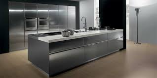 cuisine ilot centrale design ilot central cuisine design cuisine ouverte sur salon en ides