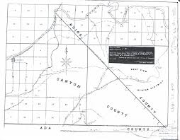 Byui Map Gem County Historical Society Links