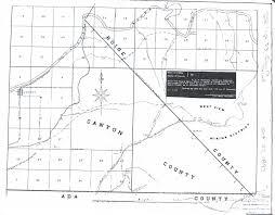 Idaho County Map Gem County Idaho Image Gallery Hcpr