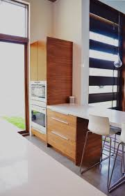 Kitchens Ikea Cabinets Ikea Kitchen With Semihandmade Flatsawn Walnut Fronts