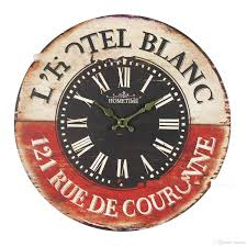 vintage british france styles wooden retro colourful country
