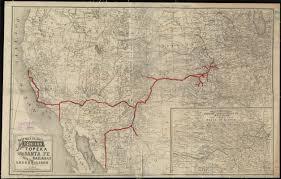 Rocky Mountain States Map Bancroft U0027s Map Of The Rocky Mountain States And The Pacific Coast