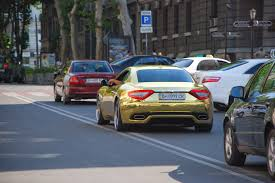 gold maserati granturismo all about automobiles gold masserati the one in the world