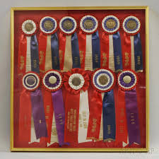 ribbons for sale gilt display frame and akc ribbons sale number 2981t lot number