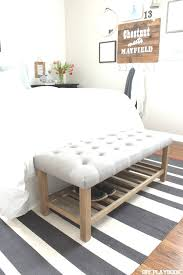 end bed bench diy end of bed bench awesome best 25 bed bench ideas pinterest