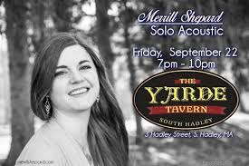 Backyard Bar And Grill West Springfield by Music This Week Merrill Shepard Solo Acoustic