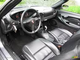 porsche black interior black interior 2004 porsche boxster standard boxster model photo