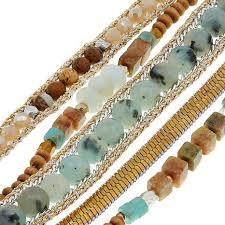 bracelet bead leather images Nakamol multi row beaded leather bracelet 8730397 hsn jpg