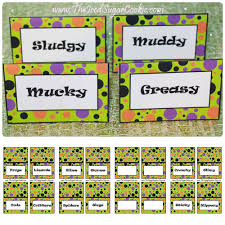 Ideas For A Halloween Birthday Party by Monster Mash Halloween Birthday Party Food Label Tent Cards Diy
