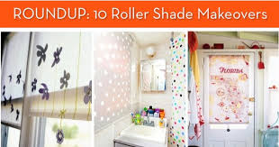 Decorative Roller Shade Pulls How To Roundup 10 Diy Roller Shade Makeovers Curbly