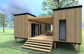 Tiny Cottages For Sale by Two 40ft Containers Set Parallel To Each Other Separating The