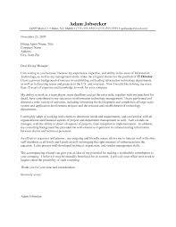 it cover letter proper cover letter format resume badak